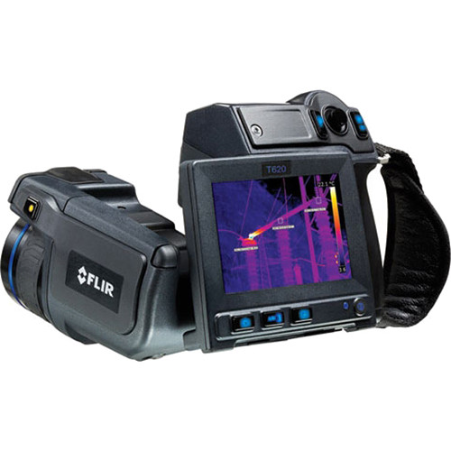 FLIR T620 640 x 480 Thermal Imaging IR Camera with 25° and 15° Lens