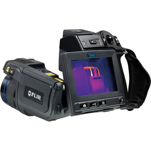 FLIR T640 Thermal Imaging IR Camera with 45° Lens, Wi-Fi, and Extended Calibration Certificate