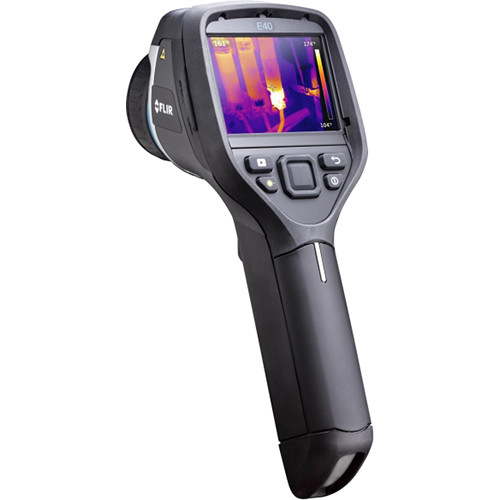 FLIR E-Series bx E40bx 160 x 120 Thermal Imager with Tools+ Software & 10mm Wide-Angle IR Lens