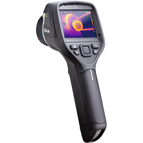 FLIR E-Series bx E60bx 320 x 240 Thermal Imager with Tools+ Software & 10mm Wide-Angle IR Lens
