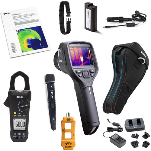 FLIR Commercial Electrician Package with E40 Camera, CM83 Clamp Meter, AC L