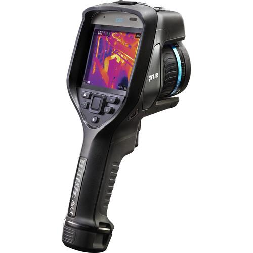 FLIR E85 Advanced Thermal Imaging Inspection Camera Kit with 10mm Lens System (30 Hz, Wi-Fi, Matte Black)