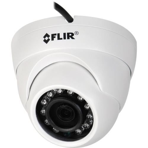 FLIR 2.1MP Day/Night IR Outdoor Dome Camera with 3.6mm Fixed Lens (White)