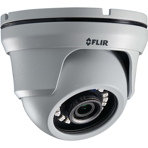 FLIR MPX Series 2.1MP Outdoor HD-CVI Eyeball Dome Camera with 2.8mm Fixed Lens