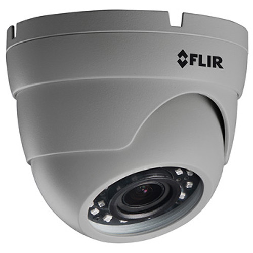 FLIR MPX Series 2.1MP Outdoor HD-CVI Dome Camera with 2.8-12mm Lens