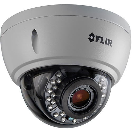 FLIR MPX Series 2.1MP Vandal-Resistant Outdoor CNV HD-CVI Dome Camera