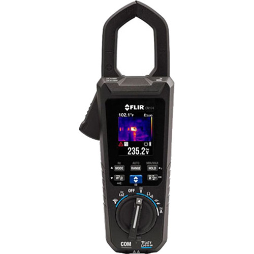 FLIR CM174 Imaging 600A AC/DC Clamp Meter with Infrared Guided Measurement (IGM) Technology