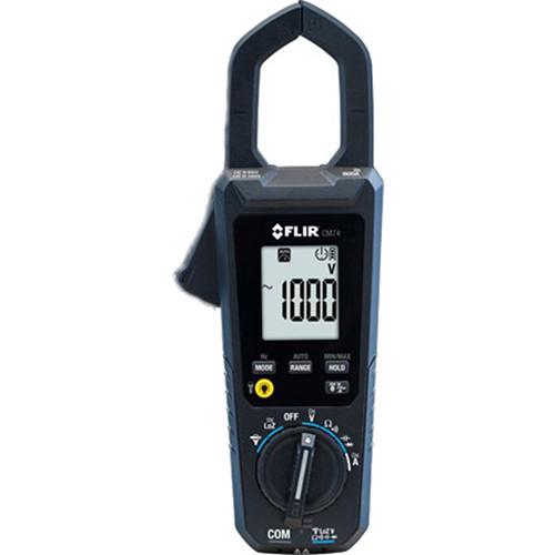 FLIR CM74 Commercial Clamp Meter (NIST Certified)