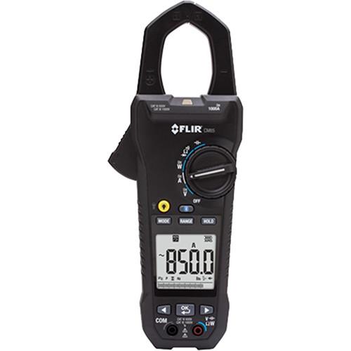 FLIR CM85 True RMS Power Clamp Meter with Bluetooth (1000A, (NIST Certified))