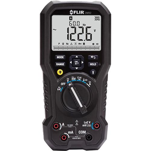 FLIR DM92 True RMS Industrial Multimeter (NIST Certified)