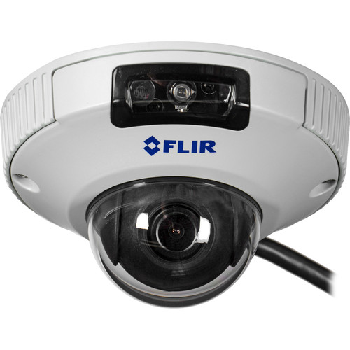 flir 2 1mp fixed lens mini dome ip camera with ir dnd13tl2. Black Bedroom Furniture Sets. Home Design Ideas