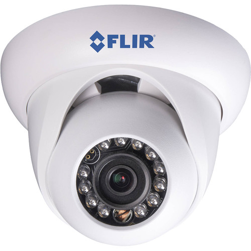 FLIR DNE12TL2 2.1MP Outdoor Network Dome Camera with Night Vision