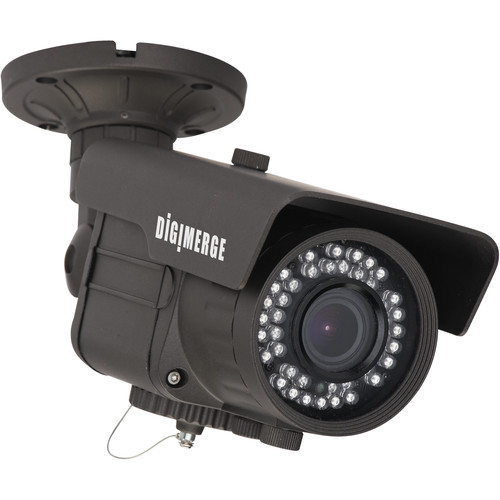 FLIR Pinnacle Ultra Resolution Polaris Vision Day/Night Varifocal IR Bullet Camera with ArcticPro Technology