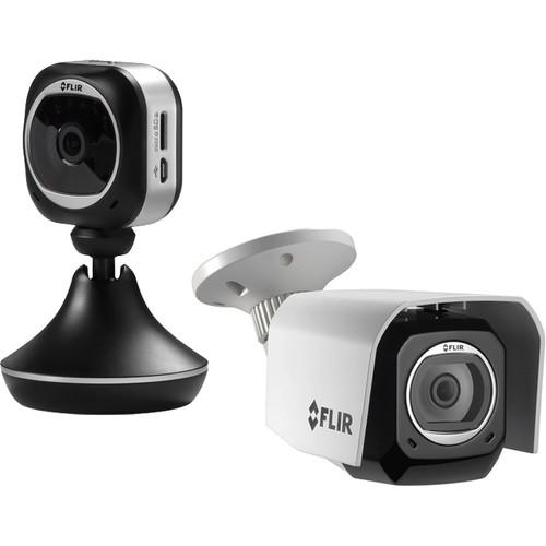 FLIR FX Wireless HD Indoor and Outdoor Camera Kit