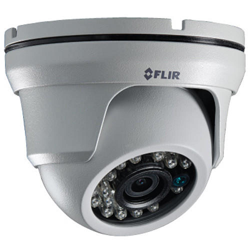 FLIR ME343 2.1MP Outdoor HD-CVI Dome Camera with Night Vision