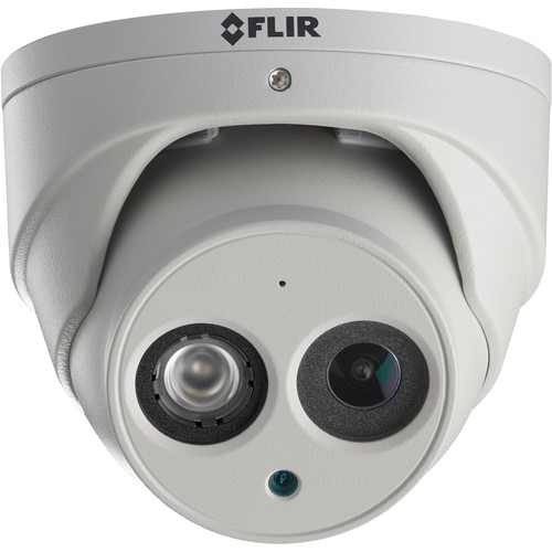 FLIR N253EA8 8MP Outdoor Network Dome Camera with Night Vision & Audio (Gray)
