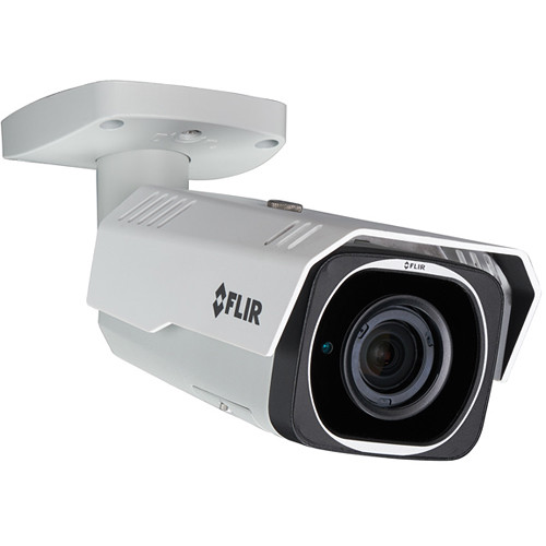 FLIR QUAD HD N347BW4 4MP Outdoor Network Bullet Camera with Night Vision & 2.7-12mm Lens