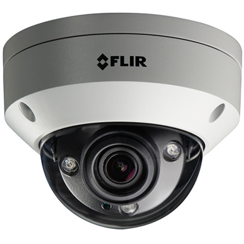 FLIR N347VW4 4MP Outdoor Vandal-Resistant Network Dome Camera