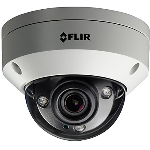 FLIR N357V8 4K UHD Outdoor Network Dome Camera with 2.7-12mm Varifocal Lens