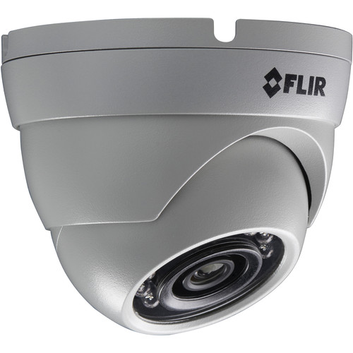 FLIR P143E4 4MP Outdoor Network Dome Camera with Night Vision