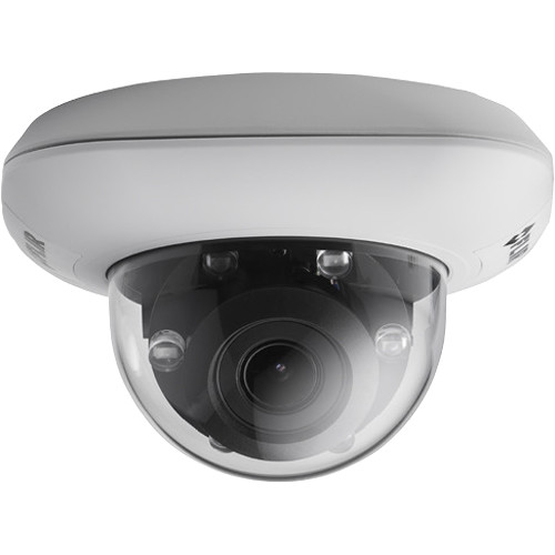 FLIR QUASAR Indoor/Outdoor 4K Mini-Dome Camera with 9 to 22mm Varifocal Lens