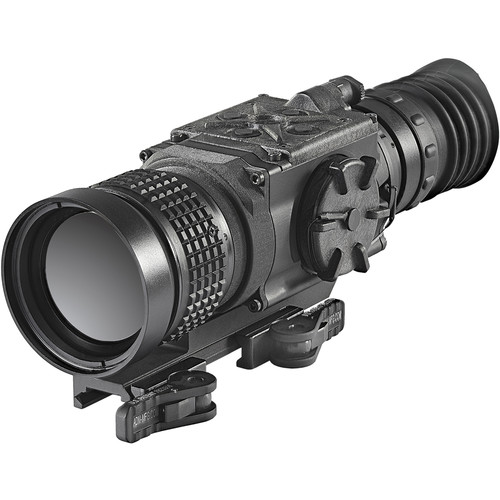 FLIR ThermoSight PTS536 Pro 4-16x50 Thermal Weapon Sight (60 Hz, Digital Multi-Reticle, Matte Black)