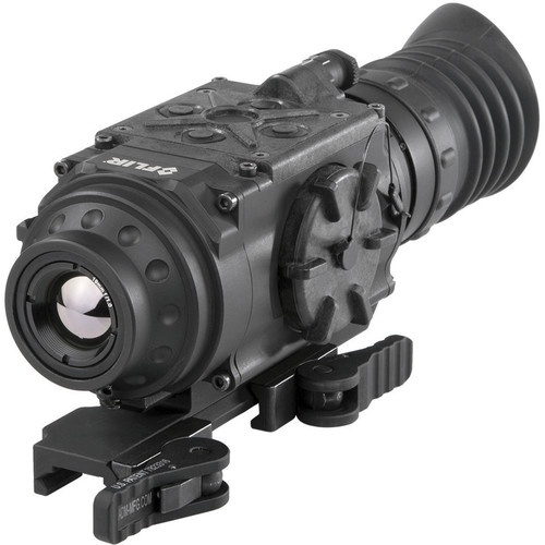 FLIR ThermoSight PTS233 Pro 1.5-6x19 Thermal Weapon Sight (60 Hz, Digital Multi-Reticle, Matte Black)