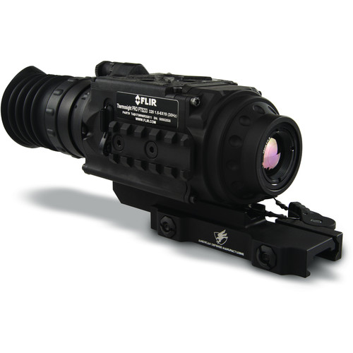 FLIR ThermoSight Pro PTS 233 1x-4x Thermal Weapon Sight (30Hz, Digital Multi-Reticle, Matte Black)
