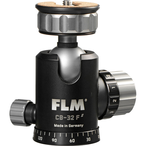 FLM CB-32F Ball Head with PRP-45 QR Plate