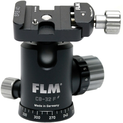 FLM CB-32F Ball Head with SRB-40 Quick Release Clamp