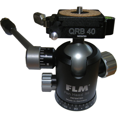 FLM PH-38 Pan Head with QRB-40 Quick Release Set