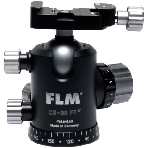 FLM CB-38FTR Professional FT Series Ball Head with SRB-40 QR Clamp