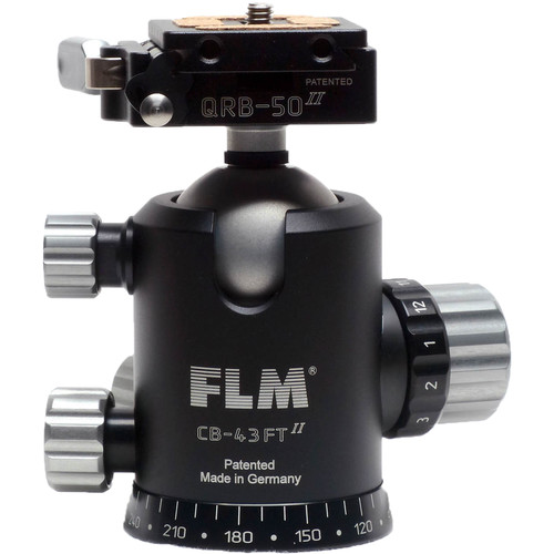 FLM CB-43 FTR Ball Head with QRP-50 Quick Release System