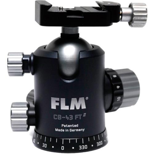 FLM CB-43FTR Professional FT Series Ball Head with SRB-40 QR Clamp
