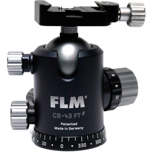 FLM CB-43FTR Professional FT Series Ball Head with SRB-40 QR Clamp