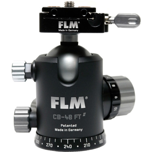 FLM CB-48 FTR Ball Head with QRP-70 Quick Release System