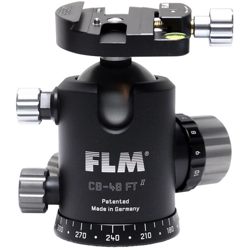 FLM CB-48FTR Professional FT Series Ball Head with SRB-60 QR Clamp