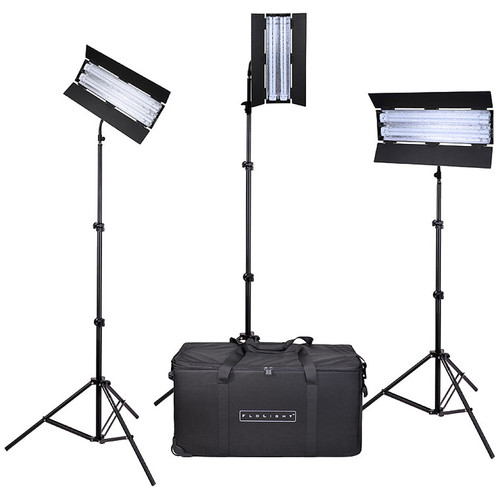 Flolight FL-110HMT 3-Point Fluorescent Lighting Kit