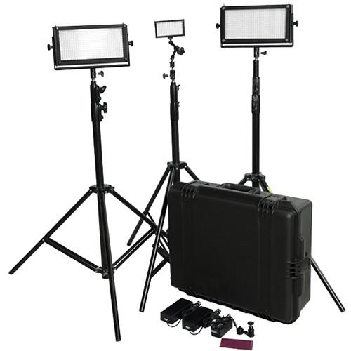 Flolight LED Travel Video Lighting Kit