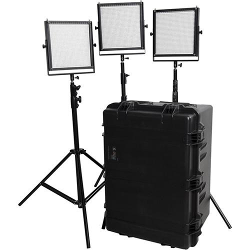 Flolight LED Video Lighting Kit (3x MicroBeam 1024 Daylights)