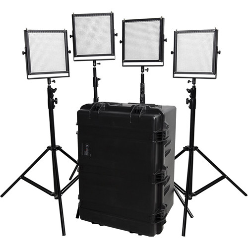 Flolight LED Video Lighting Kit (4x MicroBeam 1024 Daylights)