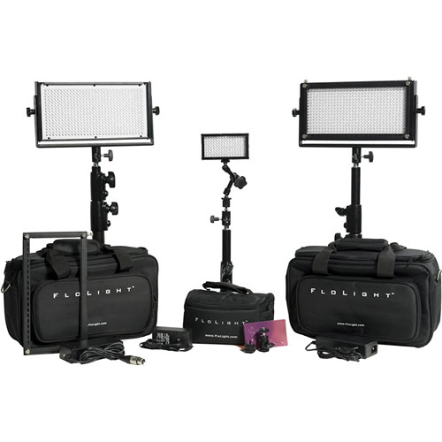 Flolight 2- MicroBeam 512 / 1- MicroBeam 128 Daylight LED Kit with Cases