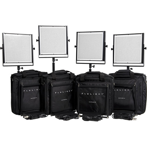 Flolight MicroBeam 4- 1024 LED Video Lighting Kit
