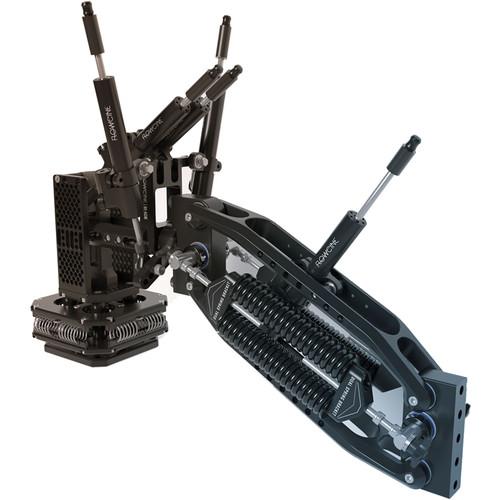 FLOWCINE Black Arm Complete Dampening System with 31 - 42 lb Anti-Vibration Mount & Pro Case