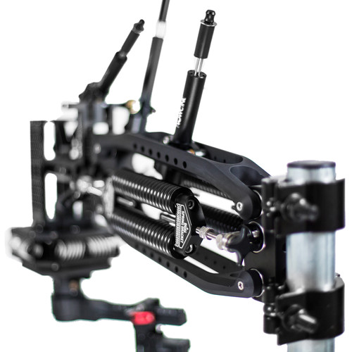 FLOWCINE Black Arm Complete Dampening System with 57 - 75 lb Anti-Vibration Mount & Standard Case