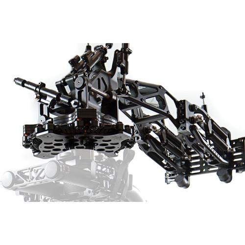 FLOWCINE Black Arm Dual Includes 2 Black Arm Complete And 2 Dual Pro Flight Cases
