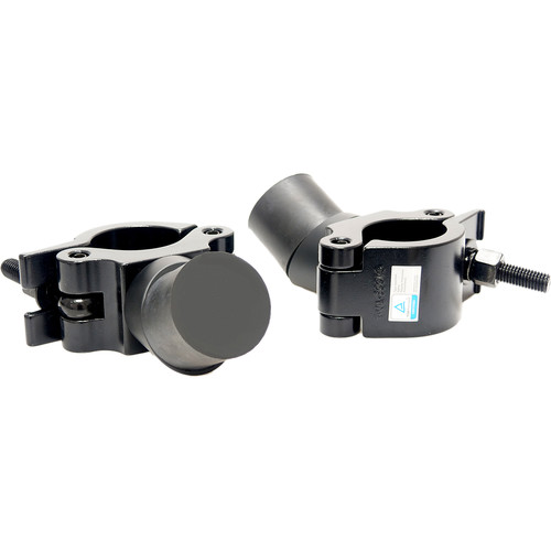 """FLOWCINE External Rubber Stopper with 2"""" Rail Clamp for Black Arm Dampening System (Set of 2)"""