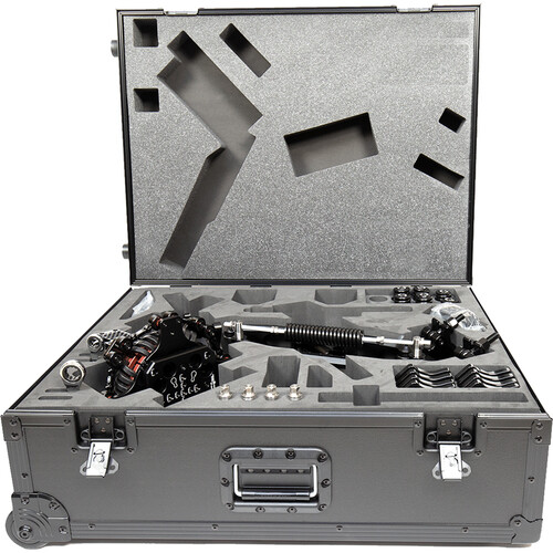 FLOWCINE Black Arm Standard Dampening System with Tranquilizer Mount & Pro Case