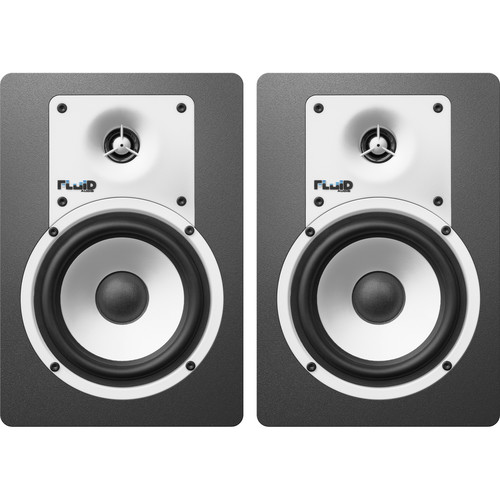 "Fluid Audio Classic Series C5BT Bluetooth 5"" Studio Monitor (Pair, Black)"