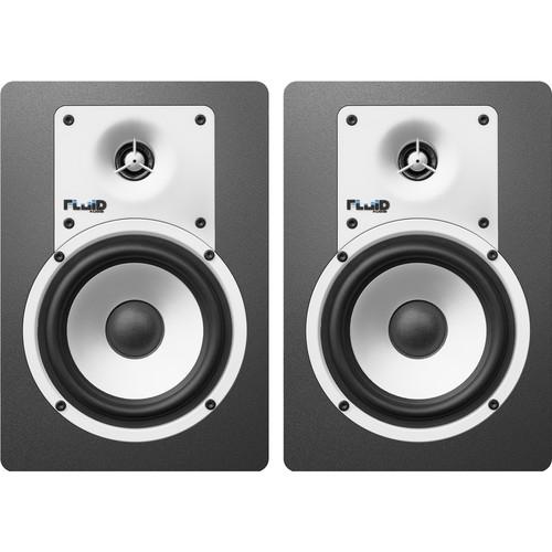 """Fluid Audio Classic Series C5 5"""" Studio Monitor (Pair, White)"""